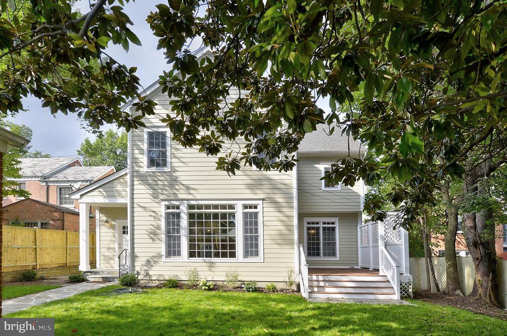 Exterior (Rear) - 3702 HARRISON ST NW, WASHINGTON