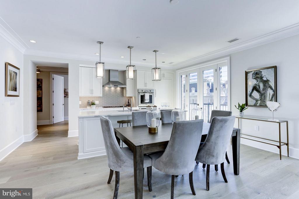 Dining Room - 1108 16TH NW #501, WASHINGTON