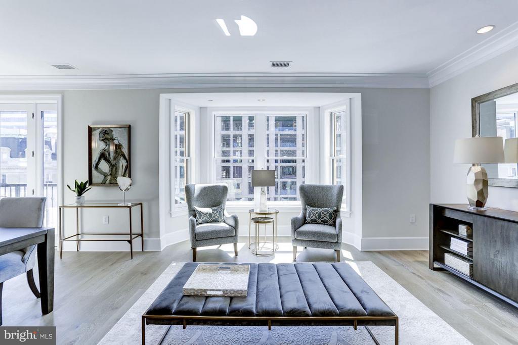 Living Room - 1108 16TH NW #501, WASHINGTON