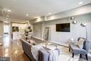 Living Room - 736 KENYON ST NW #2, WASHINGTON