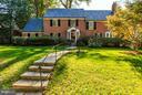 Premium setting, impressive architectural presence - 4960 HILLBROOK LN NW, WASHINGTON