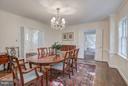 Living Room - 4960 HILLBROOK LN NW, WASHINGTON