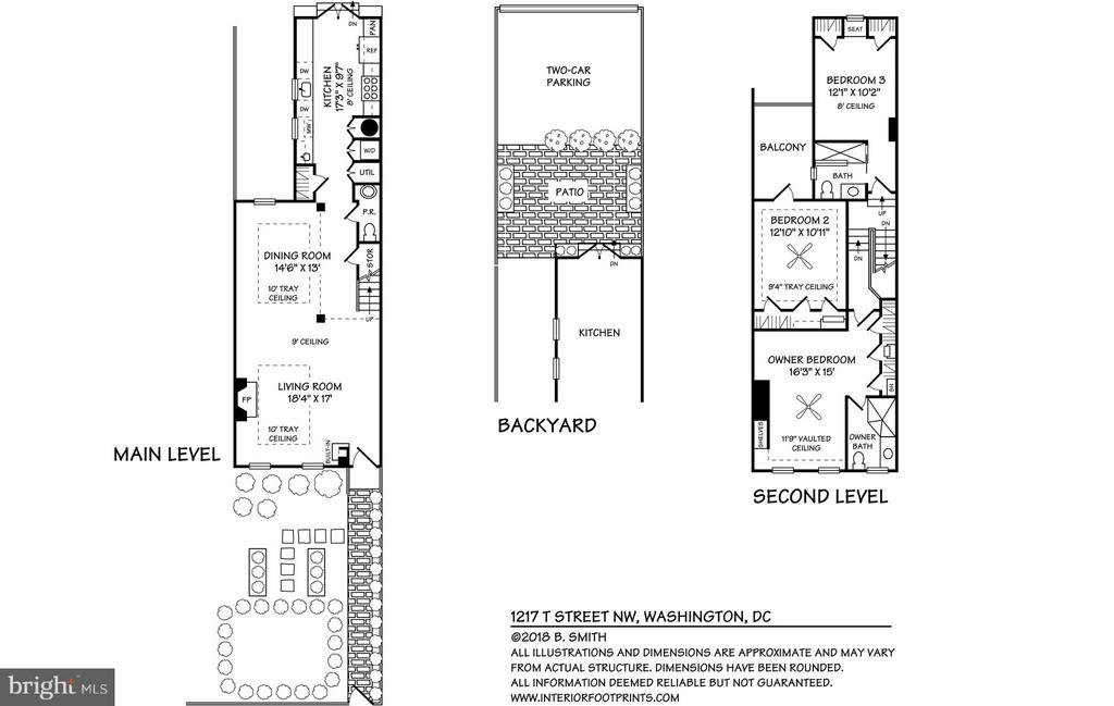 Floor Plans - 1217 T ST NW, WASHINGTON
