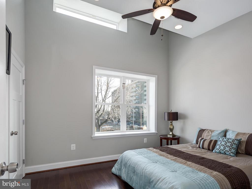 2nd Bedroom has extended ceiling height. - 1118 HOLBROOK ST NE, WASHINGTON