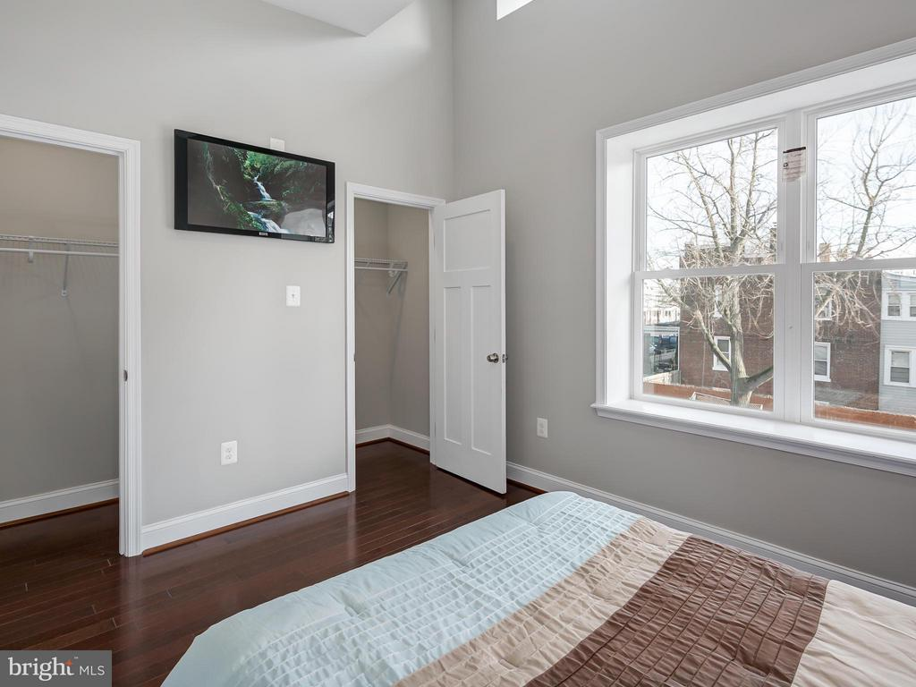 Ample closet space in 2nd Bedroom. - 1118 HOLBROOK ST NE, WASHINGTON
