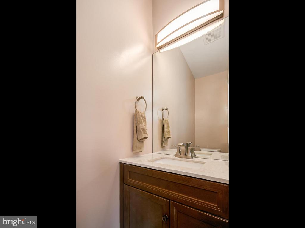 Powder room on main level! - 1118 HOLBROOK ST NE, WASHINGTON