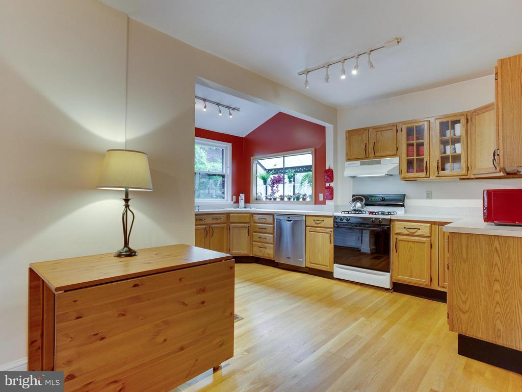 Spacious and sun-filled kitchen - 5601 42ND AVE, HYATTSVILLE