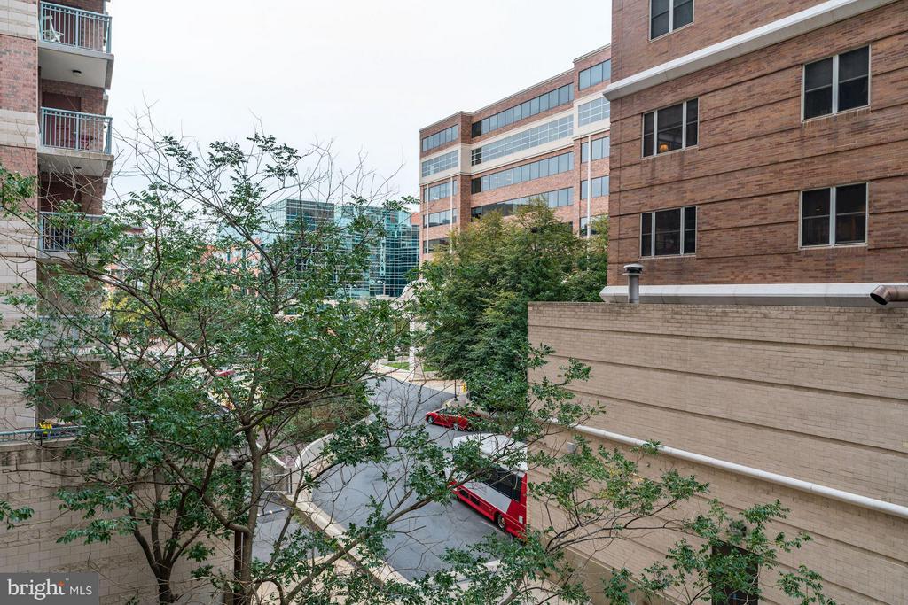 View from Balcony - 851 N GLEBE RD #306, ARLINGTON