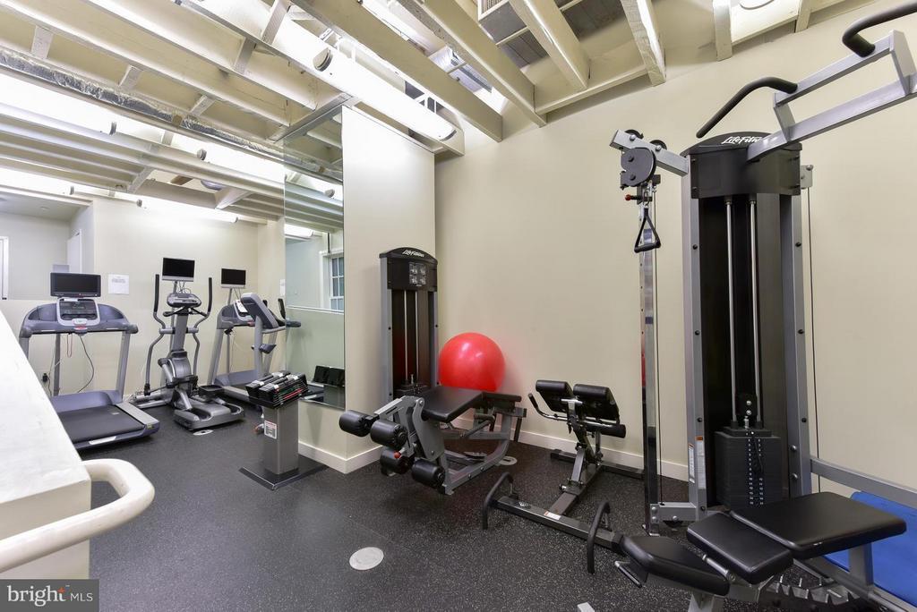 Exercise room - 912 F ST NW #706, WASHINGTON