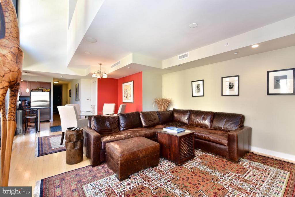 Living Room - 912 F ST NW #706, WASHINGTON