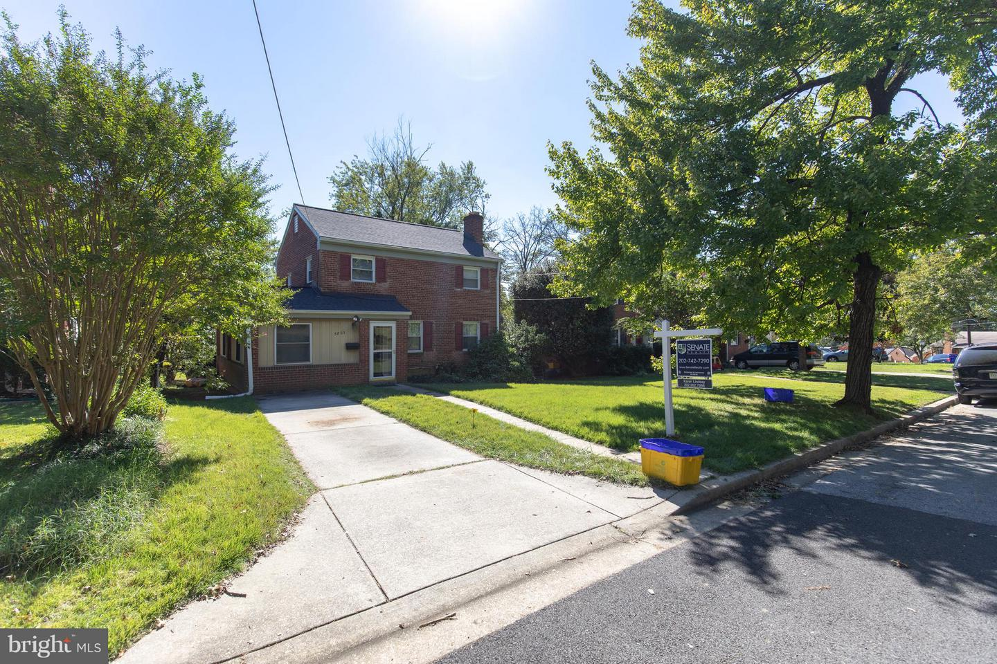 Single Family for Sale at 5803 Dewey St NW Cheverly, Maryland 20785 United States