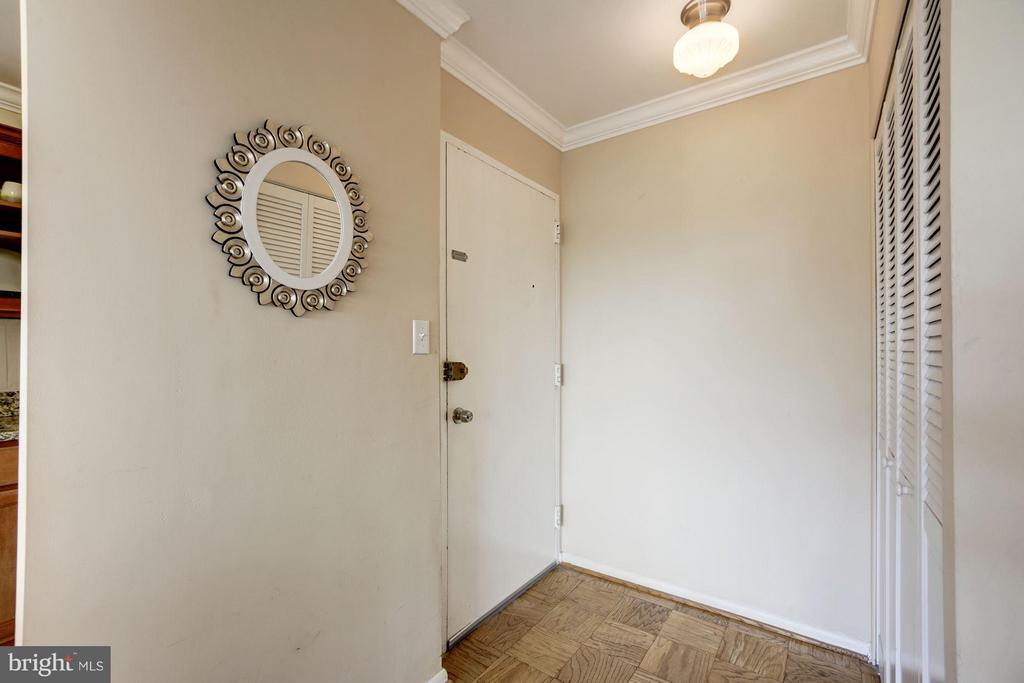 Welcoming entry foyer - 1330 NEW HAMPSHIRE AVE NW #425, WASHINGTON
