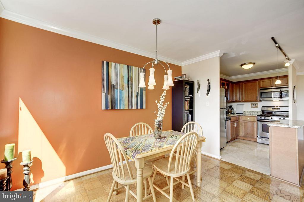 Dining Room - 1330 NEW HAMPSHIRE AVE NW #425, WASHINGTON