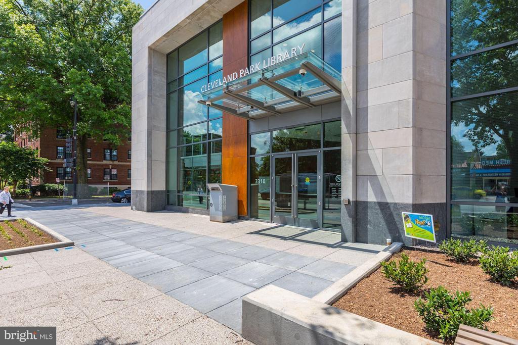 New Cleveland Park Library - 3039 MACOMB ST NW #23, WASHINGTON