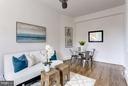 Living/Dining Room - 3039 MACOMB ST NW #23, WASHINGTON