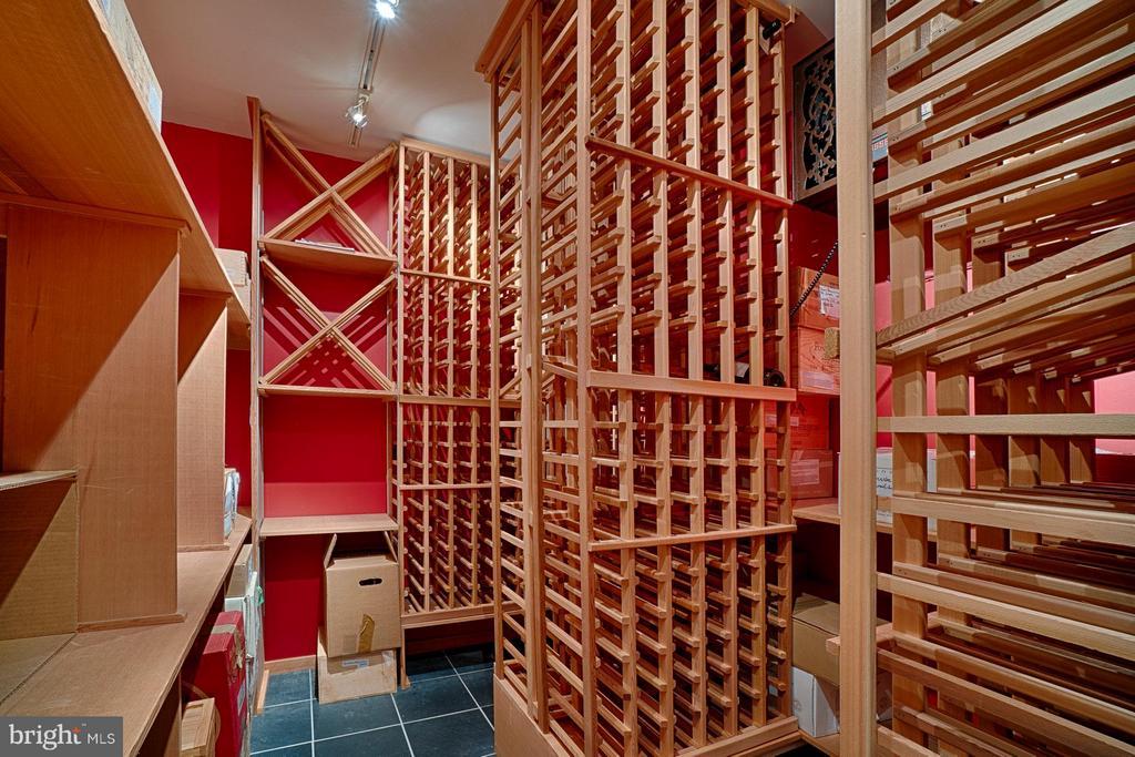 2000+ bottle Wine Cellar - 2 SPRINGER CT, BETHESDA
