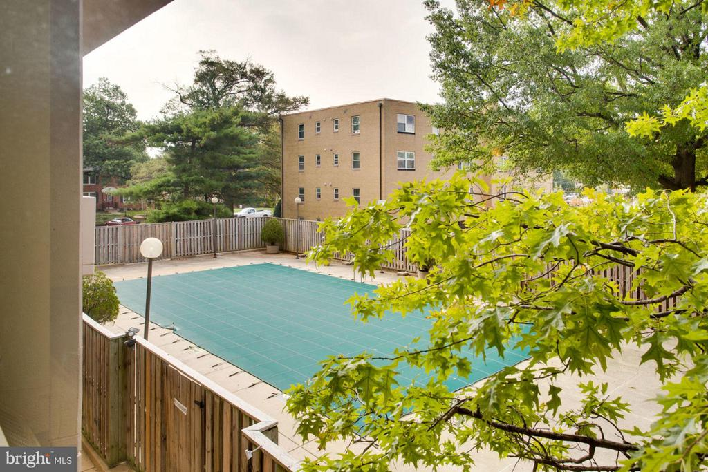 Outdoor pool - 4141 HENDERSON RD #1004, ARLINGTON