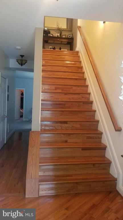 Main Stairway - 5032 A ST SE, WASHINGTON