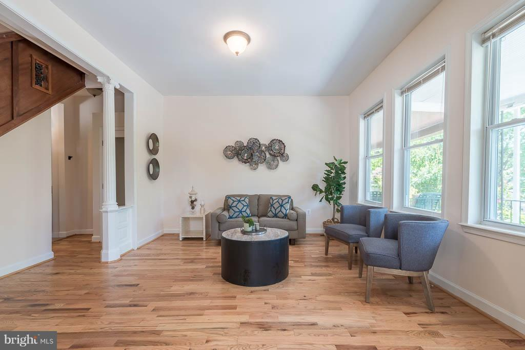 Living Room - 1240 EVARTS ST NE, WASHINGTON