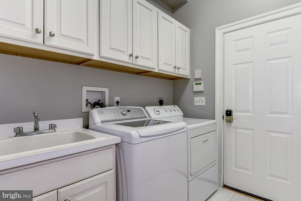 Main Level Laundry - 7730 GREENTREE RD, BETHESDA
