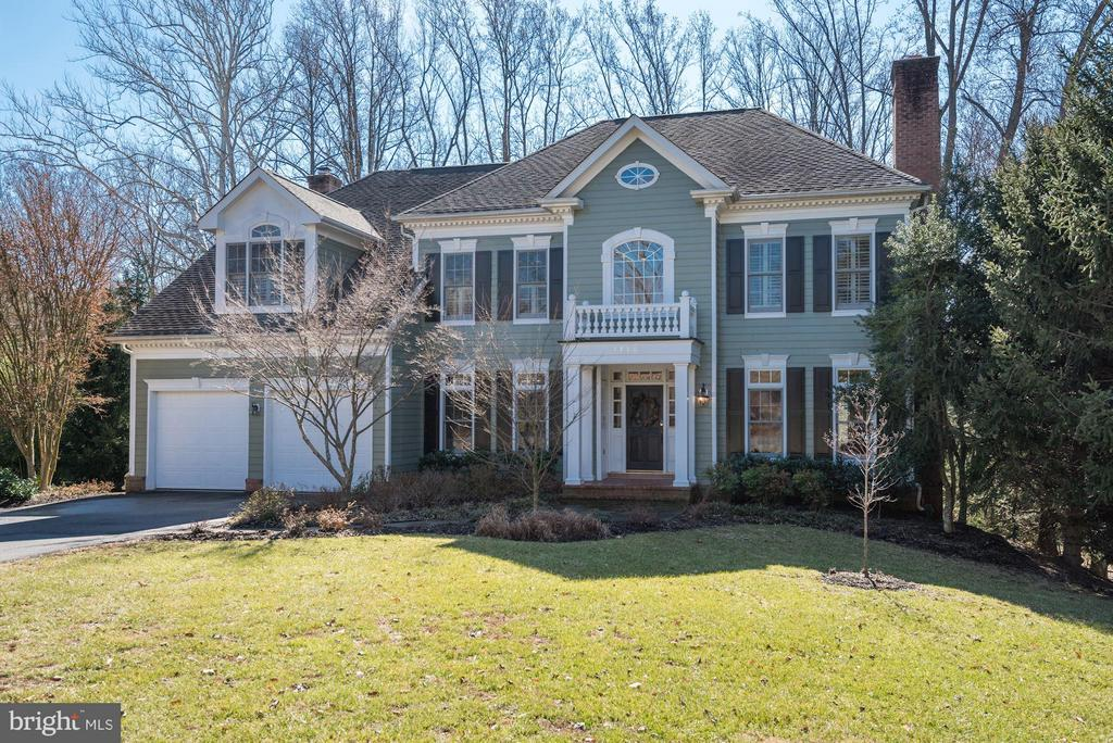 Exterior (Front) - 7730 GREENTREE RD, BETHESDA