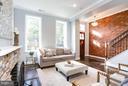 Sun filled living room - 915 9TH ST NE, WASHINGTON