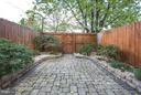 Private enclosed outdoor area in rear - 915 9TH ST NE, WASHINGTON