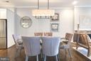 Main level dining area - 915 9TH ST NE, WASHINGTON