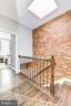 Attractive exposed brick and hardwood floors - 915 9TH ST NE, WASHINGTON