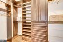 Well designed master suite closet - 915 9TH ST NE, WASHINGTON