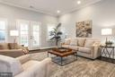 Family room opens to patio thru french doors - 915 9TH ST NE, WASHINGTON