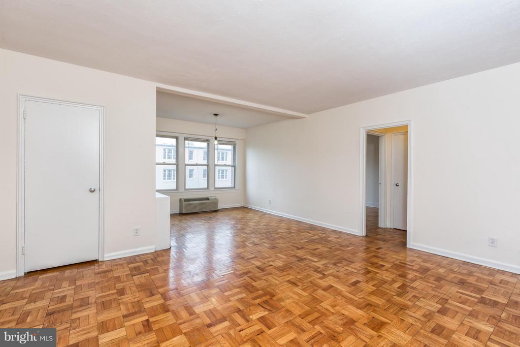 Living Room - 2500 Q ST NW #539, WASHINGTON