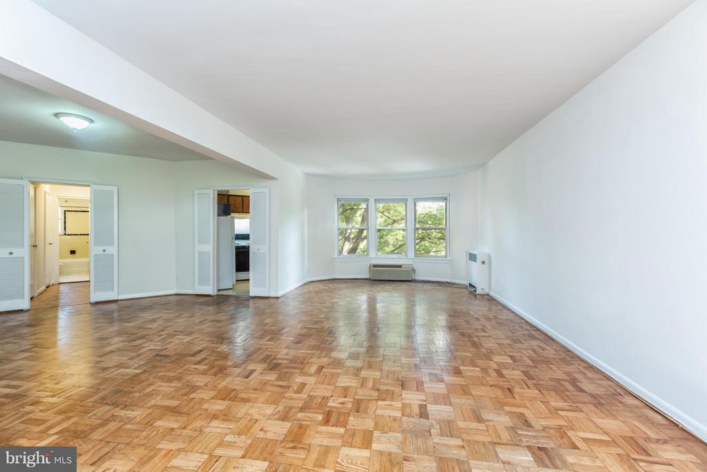 Living Room - 2500 Q ST NW #412, WASHINGTON