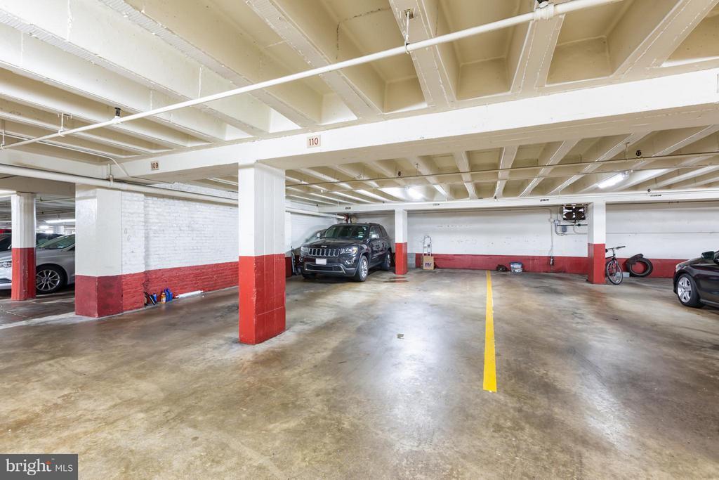 Tandem garage parking - 2500 Q ST NW #412, WASHINGTON