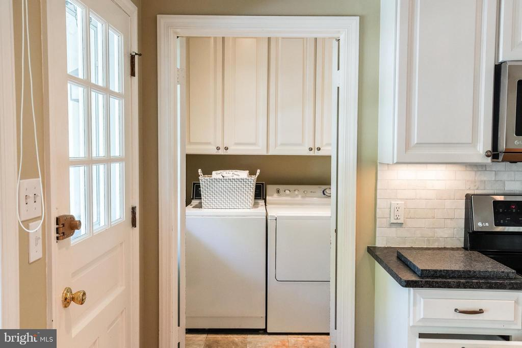 Main Level Laundry Room - 11101 ARDWICK DR, NORTH BETHESDA