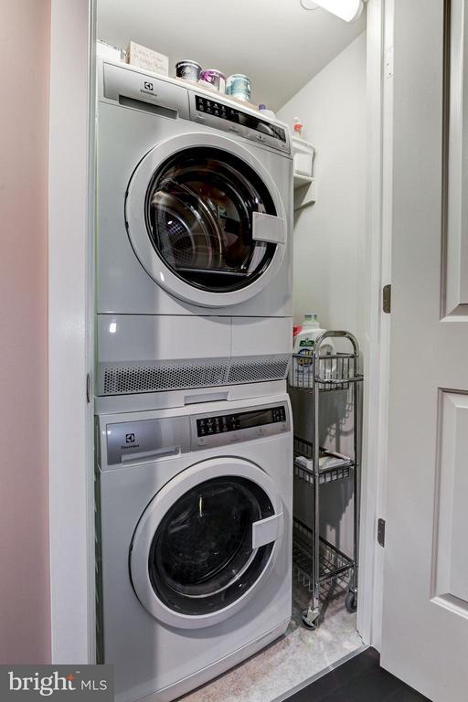 Upgraded Electrolux washer & dryer. - 1025 1ST ST SE #613, WASHINGTON