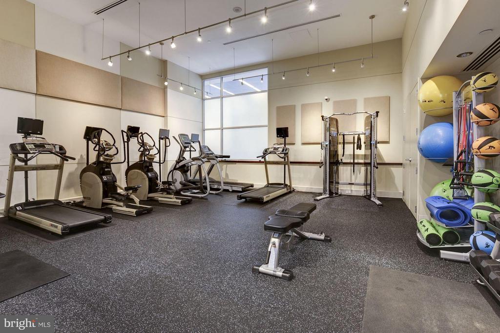 Exercise room on main floor. - 1025 1ST ST SE #613, WASHINGTON