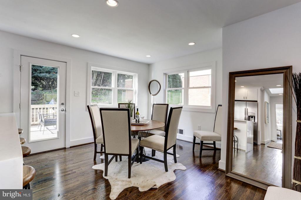 Dining Room - 2620 MORELAND PL NW, WASHINGTON