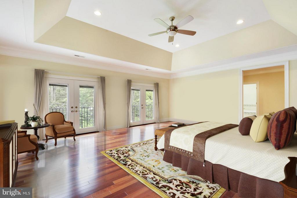Bedroom (Master) - 8314 ROBEY AVE, ANNANDALE