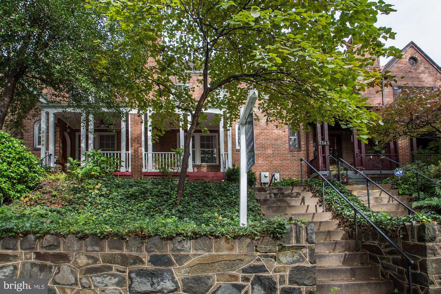 Photo of home for sale at 3147 Adams Mill Road Nw, Washington DC
