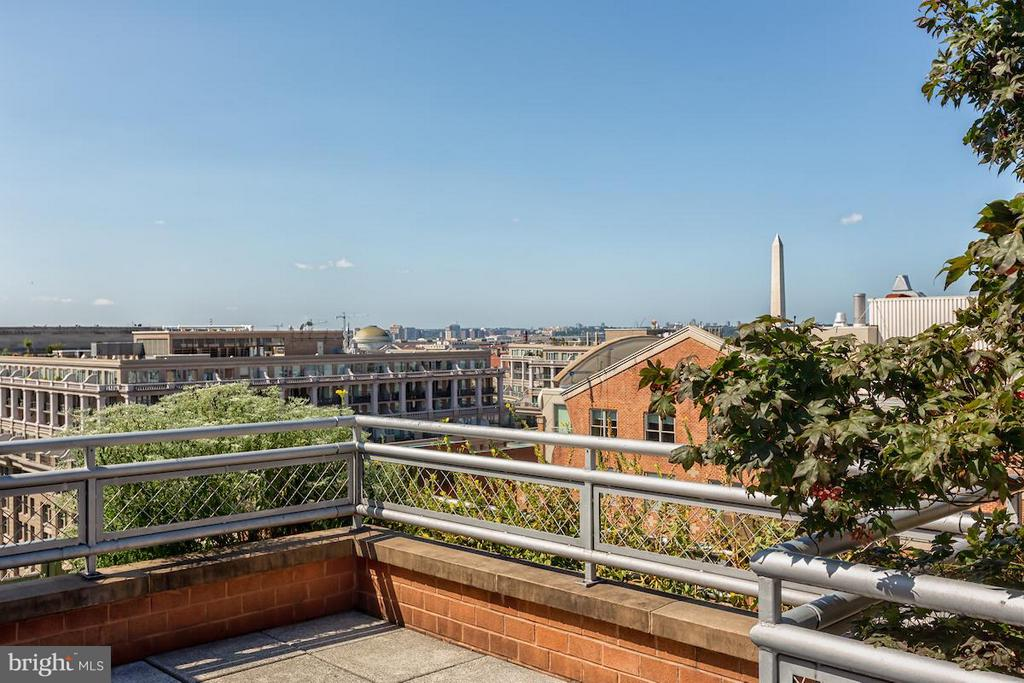 Rooftop Views of the Monument - 616 E ST NW #655, WASHINGTON