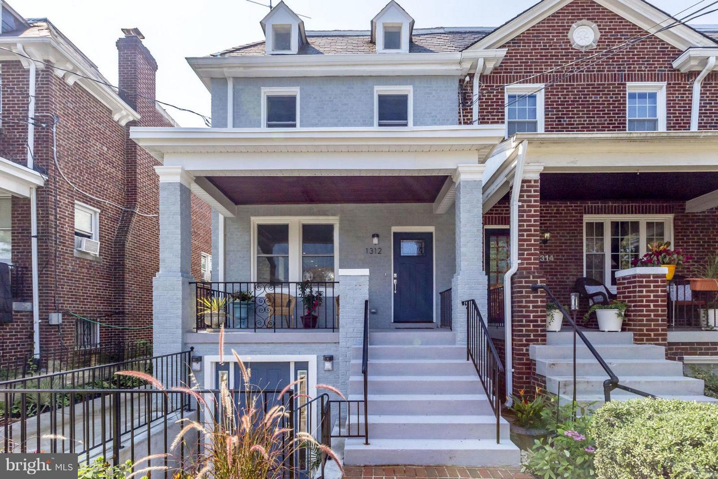 Single Family for Sale at 1312 Rittenhouse St NW Washington, District Of Columbia 20011 United States