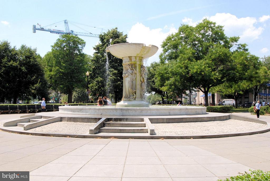 Dupont Circle Fountain - 2125 S ST NW #PH1, WASHINGTON