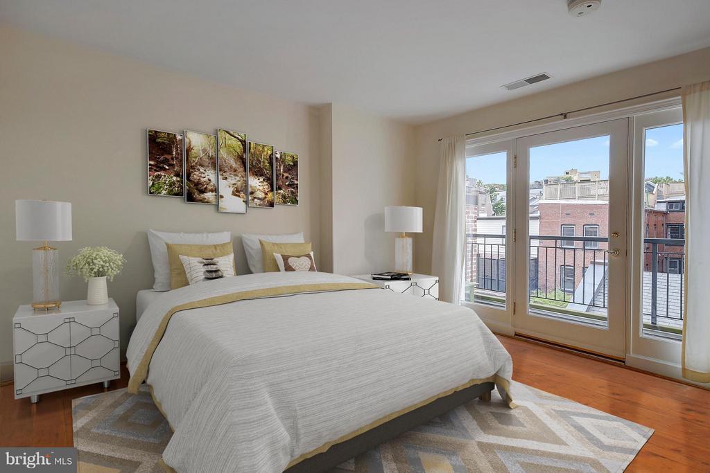 Bedroom (Master) - 2125 S ST NW #PH1, WASHINGTON