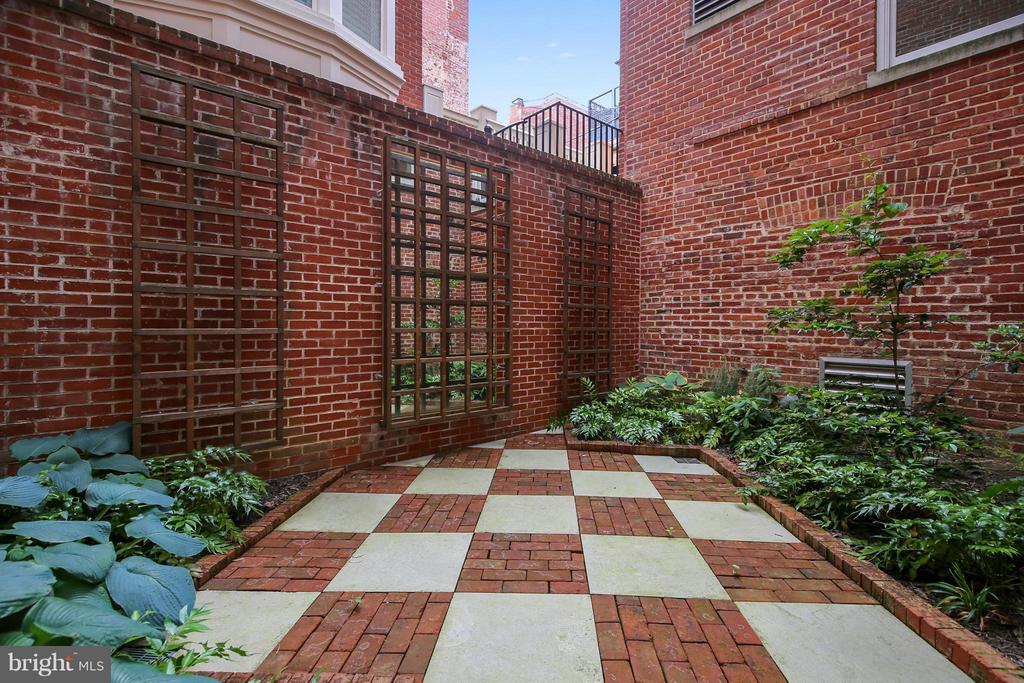 Walled Garden - 2125 S ST NW #PH1, WASHINGTON
