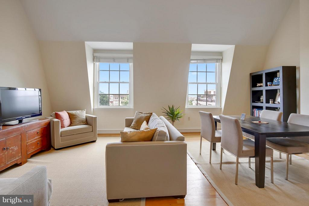Expansive View of the City - 2125 S ST NW #PH1, WASHINGTON