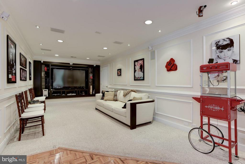 Basement rec room - 8142 OLD DOMINION DR, MCLEAN
