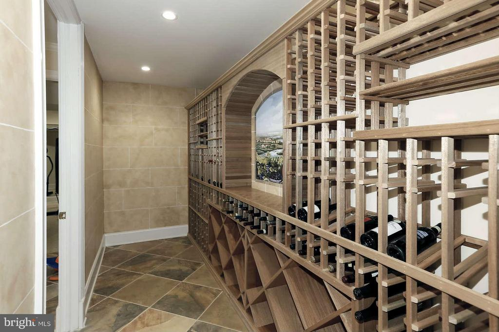 wine cellar - 8701 OLD DOMINION DR, MCLEAN