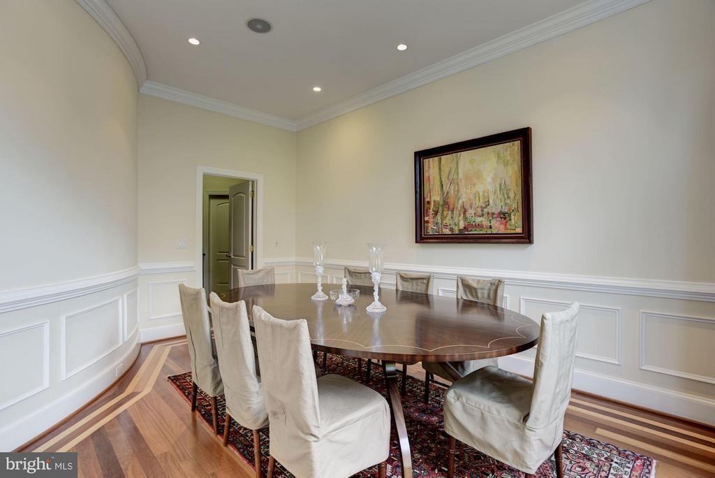 Dining Room - 8142 OLD DOMINION DR, MCLEAN