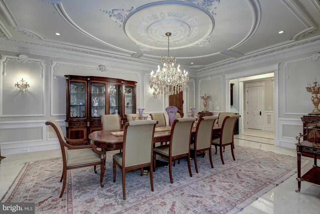 Formal Dining Room - 938 PEACOCK STATION RD, MCLEAN